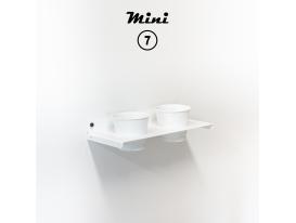 Mini 7 - RAL 9016 Bianco traffico aspetto opaco
