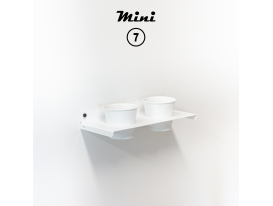Mini 7 - RAL 9016 Traffic white matte appearance
