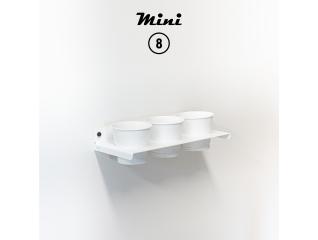 Mini 8 - RAL 9016 Traffic white matte appearance