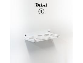 Mini 9 - RAL 9016 Traffic white matte appearance