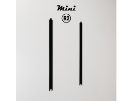 Mini R2 - RAL 9005 Jet black matte appearance