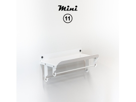 Mini 11 - Traffic white matte appearance
