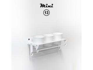Mini 13 - RAL 9016 Traffic white matte appearance