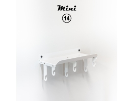 Mini 14 - RAL 9016 Traffic white matte appearance